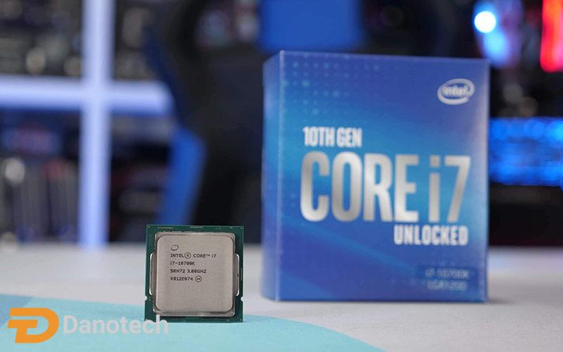 پردازنده Intel Core i7 10700K