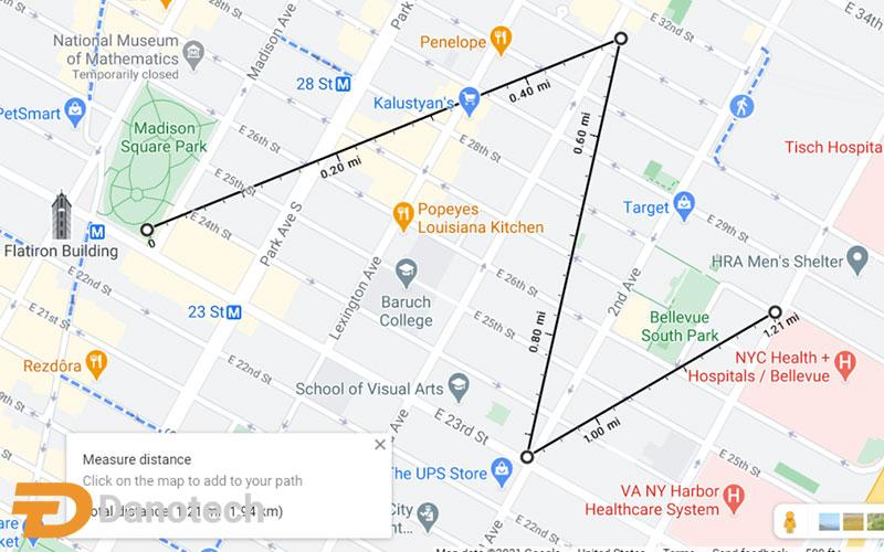 تغییر نام یا مسیر جاده در گوگل مپ