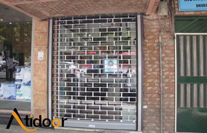 کرکره برقی مغازه ای یا فروشگاهی
