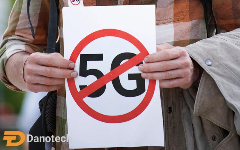 محدودیت های موجود در مورد تابش دکل های 5G