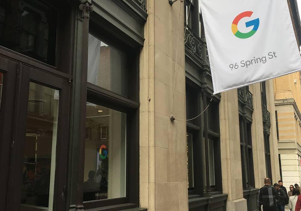 اولین فروشگاه خرده فروشی فیزیکی گوگل در نیویورک