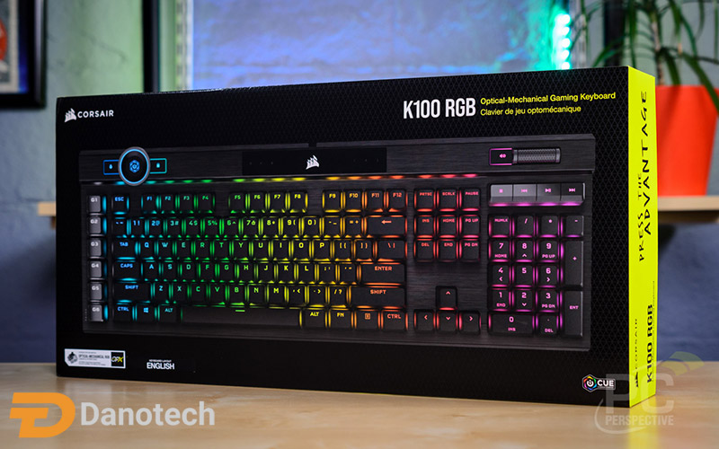 کیبورد گیمینگ Corsair K100 RGB Optical