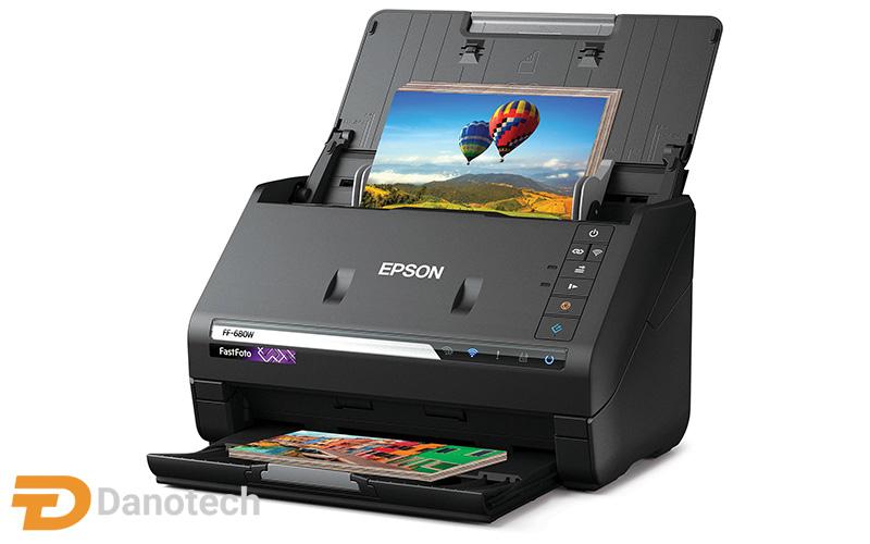 اسکنر حرفهای عکس Epson FastFoto FF-680W