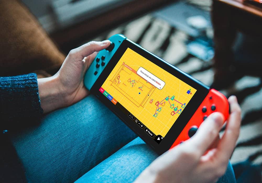 Nintendo's Game Builder به شما امکان میدهد بازی خود را بسازید