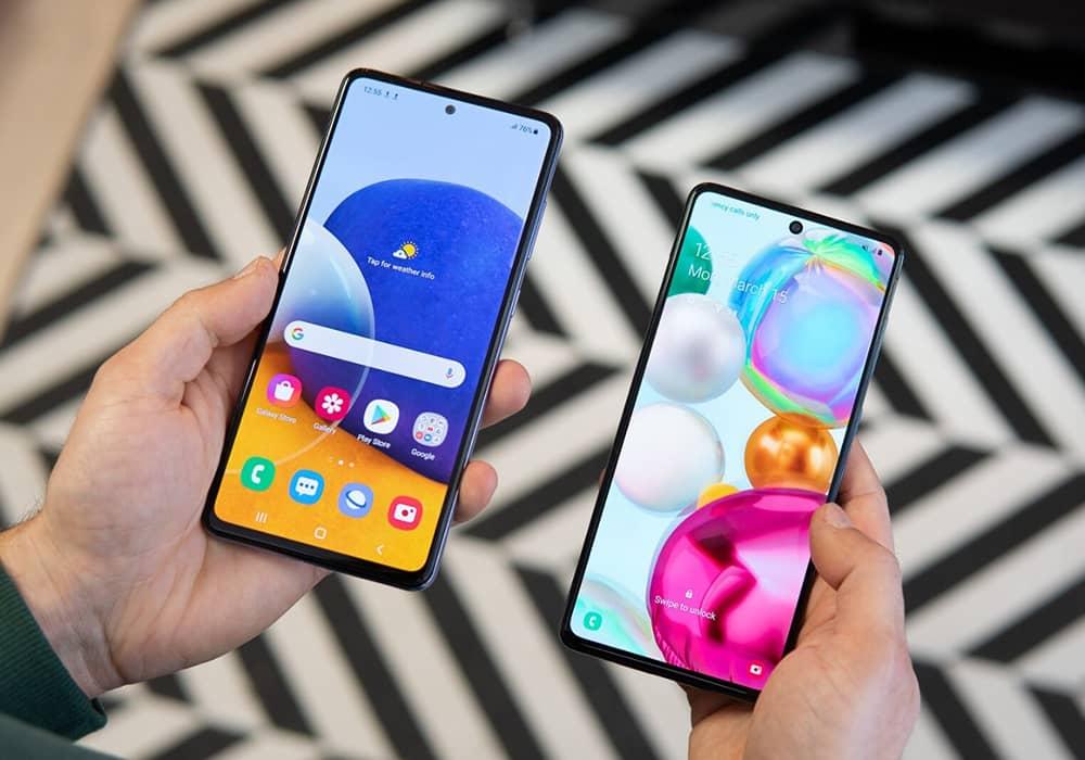 گوشی a72 بهتر است یا a71