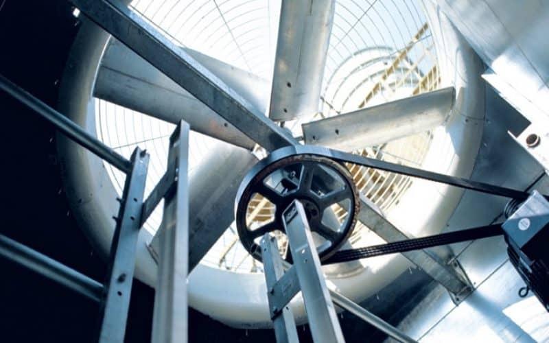 نحوه عملکرد قطعات برج خنک کننده