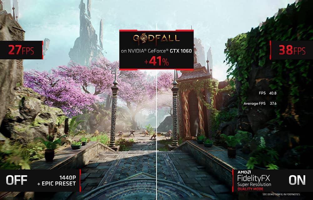 AMD از فناوری FidelityFX Super Resolution رونمایی کرد