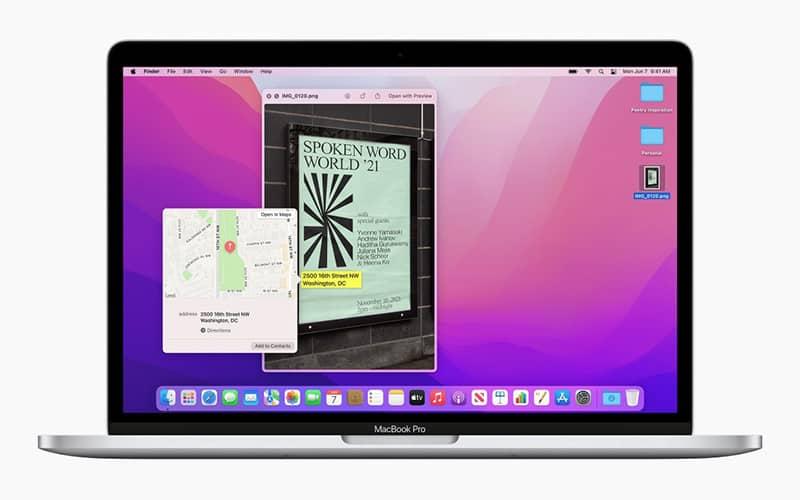 قابلیتهای جدید سیستم عامل macOS Monterey