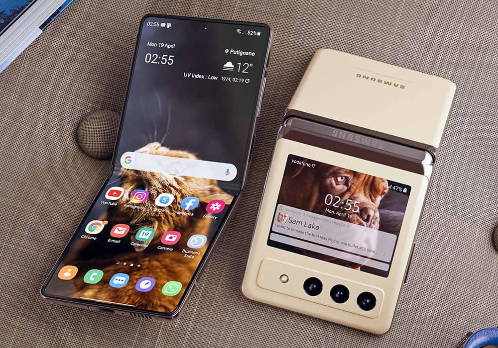 رنگهای جدید گوشی Samsung Galaxy Z Flip3