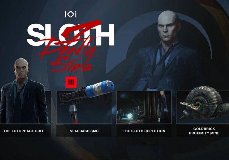 فصل جدید بازی هیتمن 3 با نام Sloth Gets معرفی شد