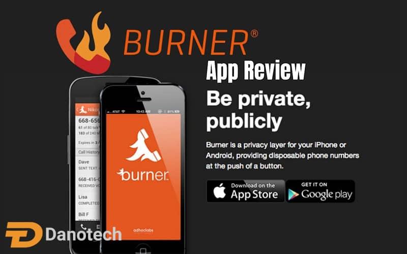 برنامه burner app