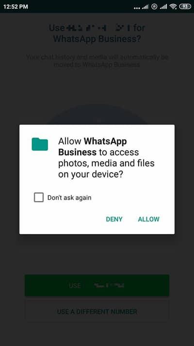نحوه انتقال از واتساپ به واتساپ بیزینس