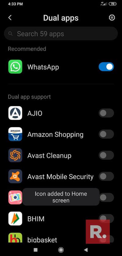 آموزش نصب واتساپ دوم روی گوشی های شیائومی