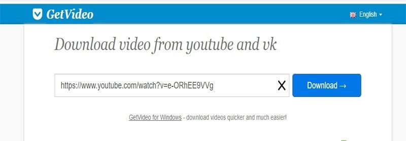 دانلود فیلم از یوتیوب با سایت GetVideo