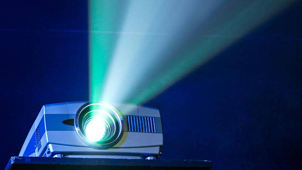 شدت روشنایی ویدئو پروژکتور