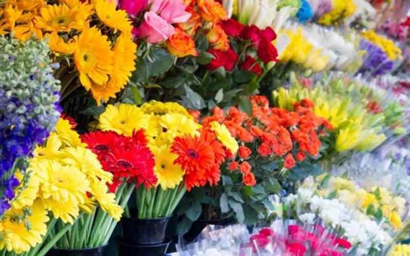 بازار گل خاوران (امام رضا)