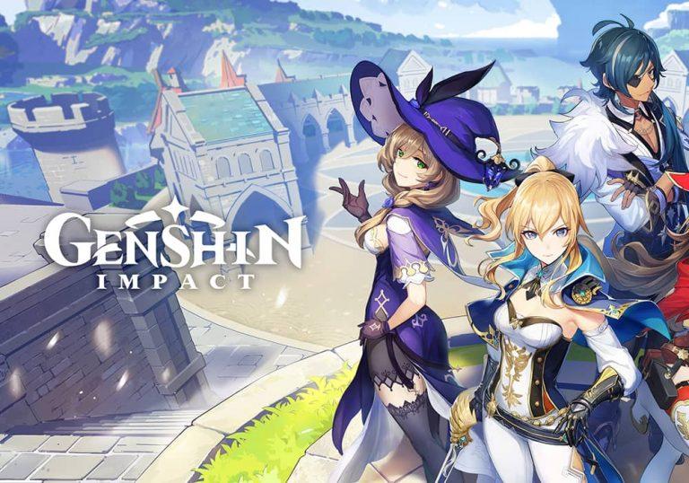 بهبروزرسانی نسخه دوم بازی Genshin Impact در تاریخ 21 ژانویه