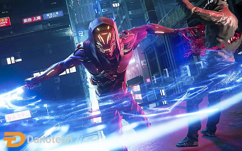 گیم پلی بازی Ghostrunner
