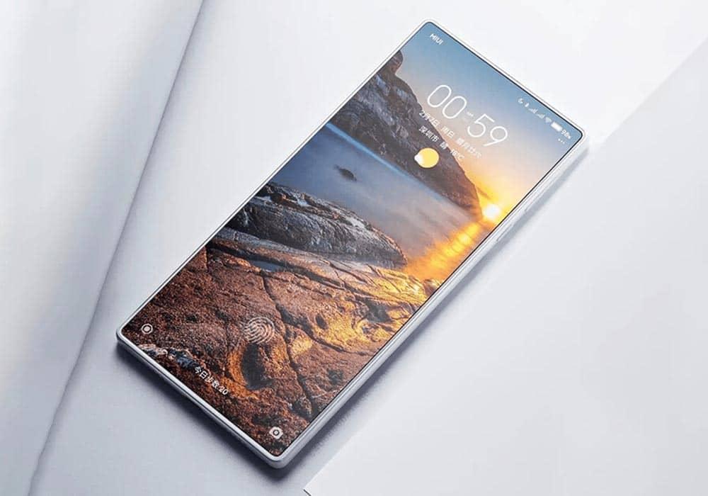 گوشی هوشمند Xiaomi Mi Mix 4 دارای یک دوربین مخفی در زیر نمایشگر است