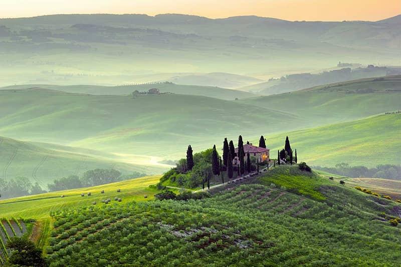 پارک ملی توسکانی ایتالیا