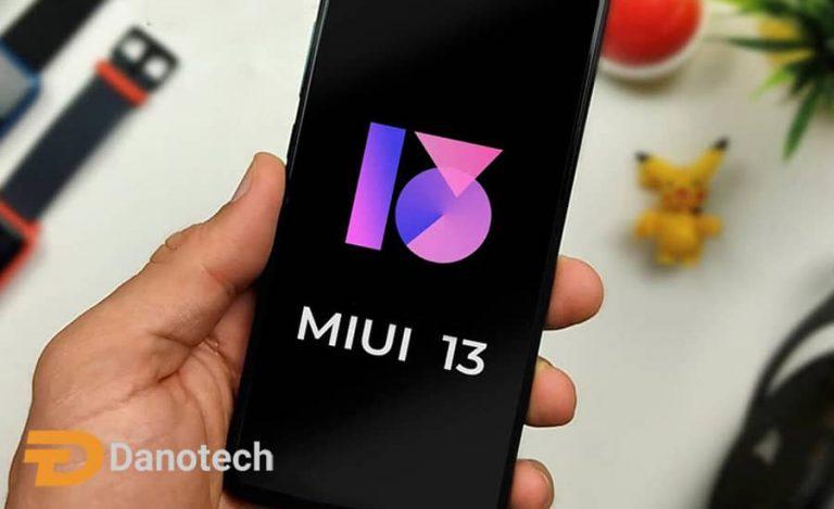 رابط کاربری MIUI 13