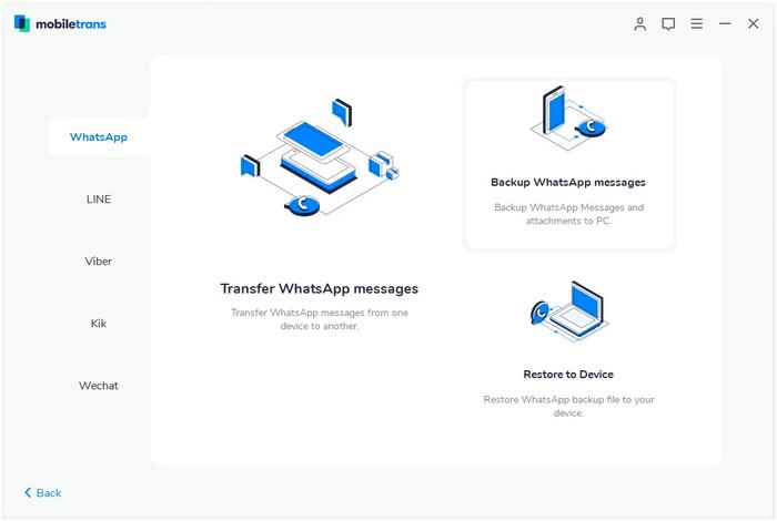 برنامه MobileTrans