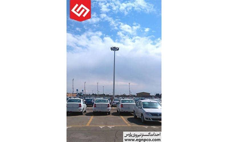 کاربردهای برج روشنایی