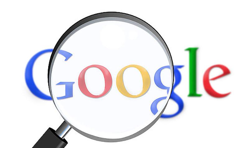 اکانت مورد نظر را در Google جست و جو کنید