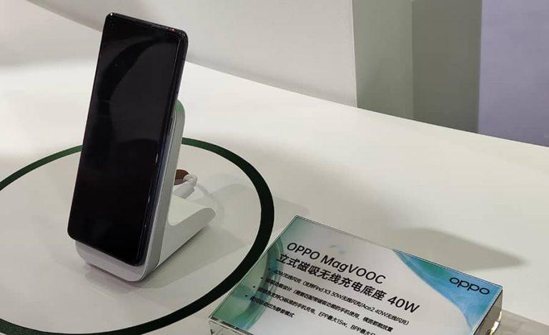 اوپو آداپتورهای شارژ مغناطیسی MagVOOC را به همراه یک پاوربانک جدید معرفی کرد