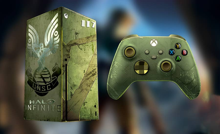 نسخه محدود Xbox Series X با ظاهر Halo Infinite