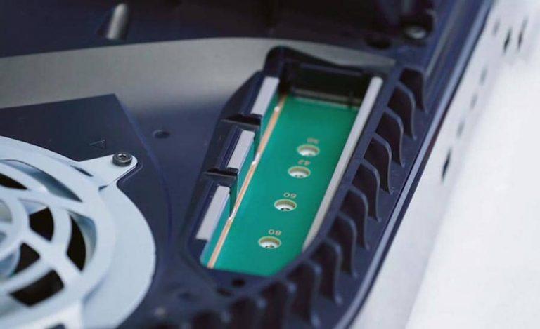 استفاده از SSD وسترن برای ارتقا حافظه داخلی PS5