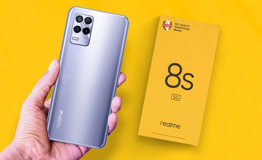 رنگبندی رسمی گوشی Realme 8s 5G قبل از رونمایی مشخص شد