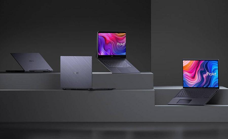 ایسوس از لپ تاپ های جدید ProArt ،Vivobook و Zenbook رونمایی کرد