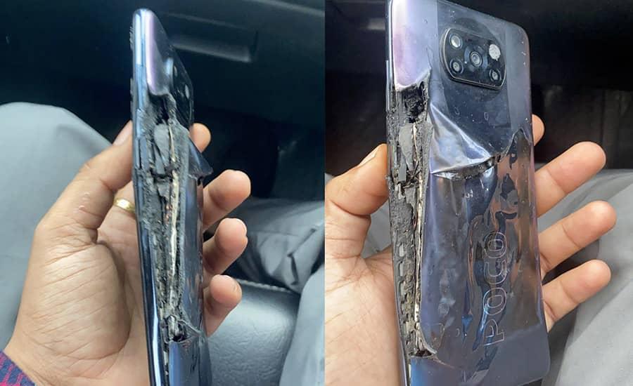 گوشی Poco X3 Pro بعد از چند دقیقه شارژ، منفجر شد