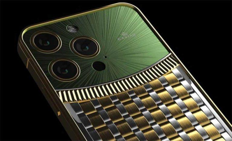 مجموعه سفارشی iPhone 13 Pro با الهام از ساعتهای رولکس عرضه خواهد شد