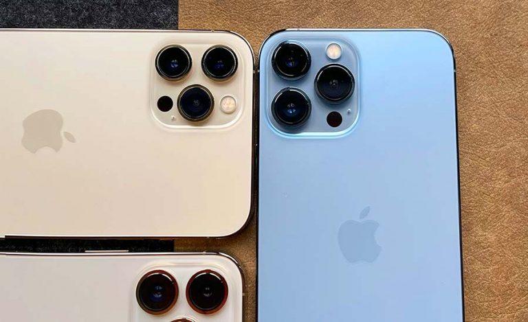 اپل از سه سنسور جدید دوربین سونی در iPhone 13 Pro Max استفاده میکند