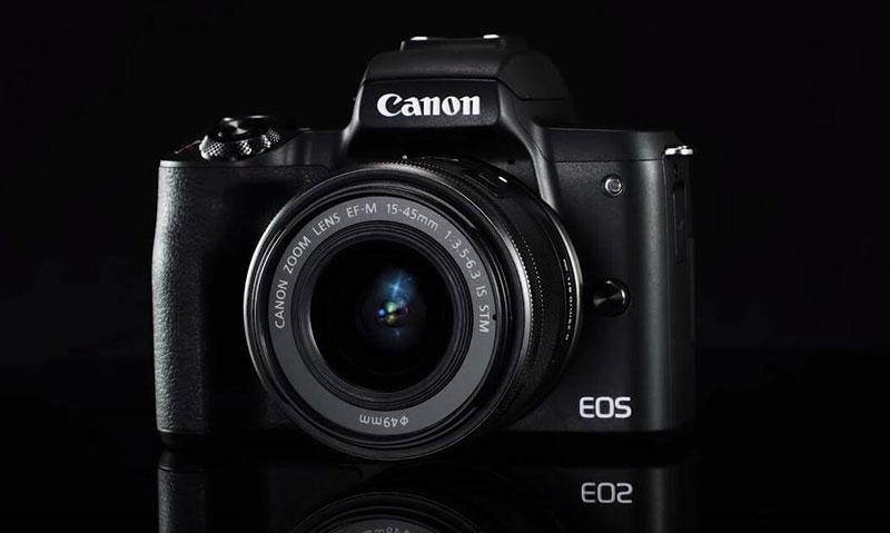دوربین کانن m50 mark ii