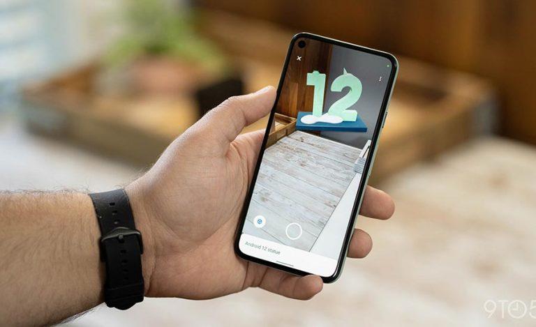 گوگل شروع به عرضه اندروید 12 به گوشی های پیکسل میکند