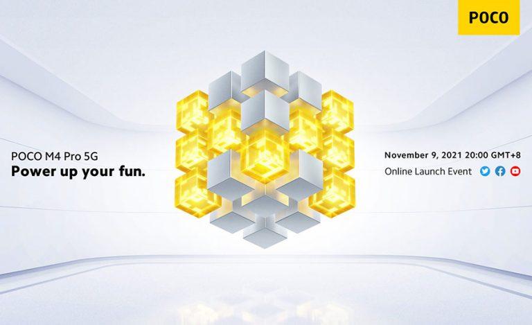گوشی Poco M4 Pro 5G در 9 نوامبر عرضه میشود