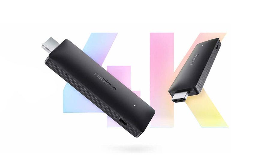 دانگل تلوزیون ریلمی 4K Smart TV Stick با قیمت 53 دلار معرفی شد
