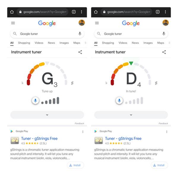 رابط کاربری گوگل تیونر