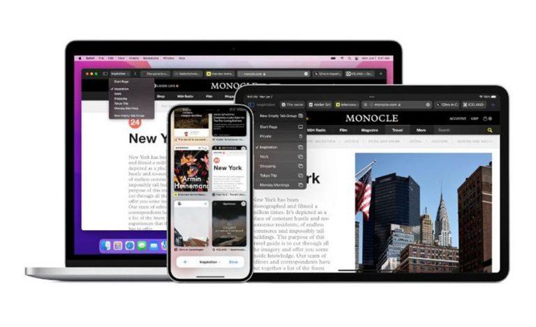 کاربران Mac از طراحی رنگ برگه های مرورگر Safari 15 راضی نیستند